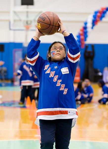 Garden of Dreams basketball