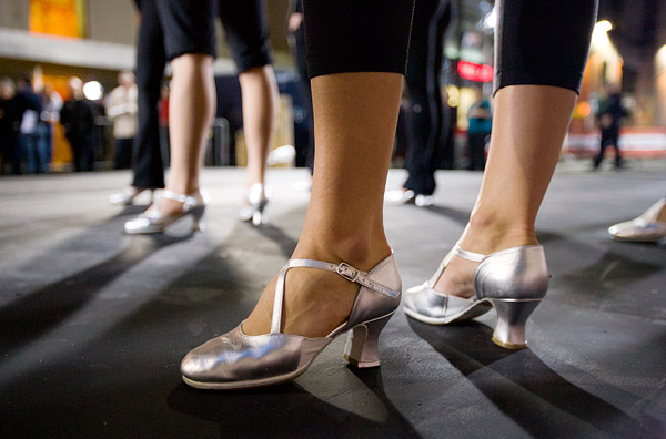 Rockettes shoes