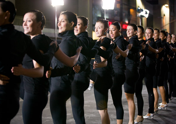 Rockettes Today Show rehearsal