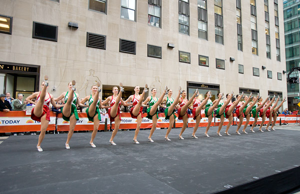 Today Show Rockettes