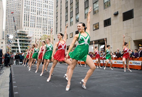 Rockettes perform on the Today Show