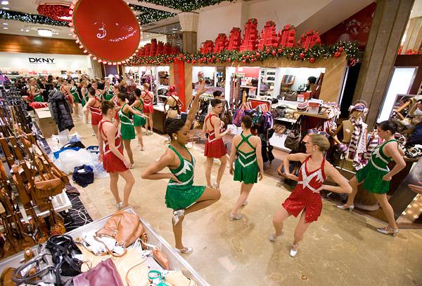 Rockettes at Macy's