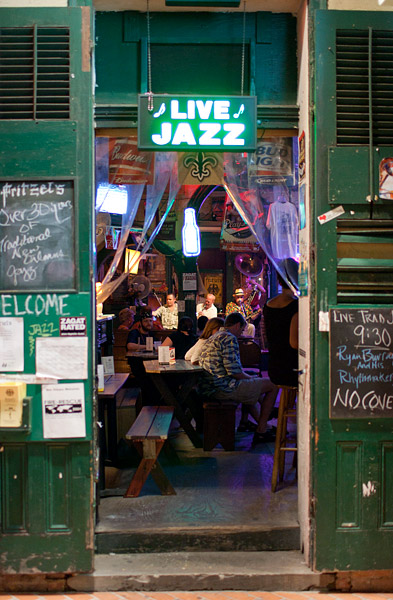 Live Jazz New Orleans