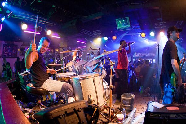 Music on Bourbon Street