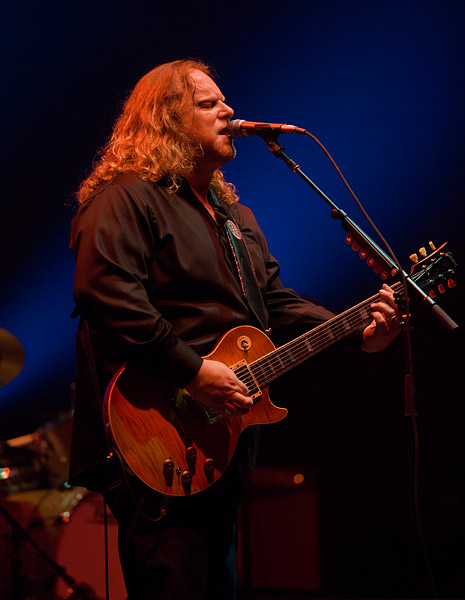 Warren Haynes and Gov't Mule perform one of their traditional New Year's run of shows at the Beacon Theatre