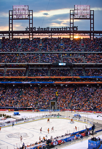 New York Rangers and Philadelphia Flyers at NHL Winter Classic
