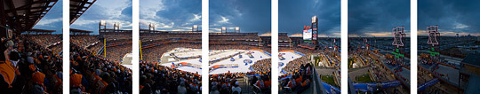 NHL Winter Classic panorama source images