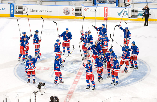 New York Rangers defeat Phoenix Coyotes