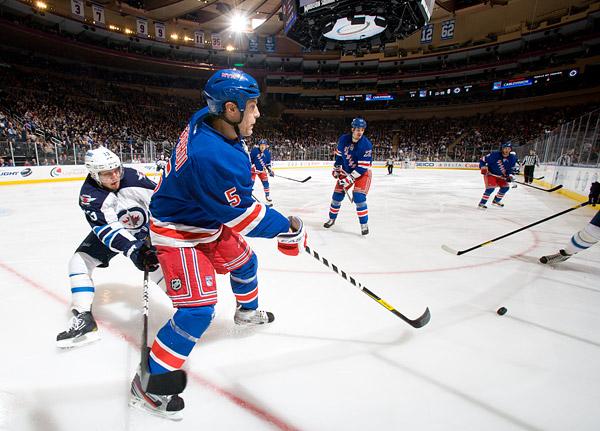 New York Ranger Dan Girardi