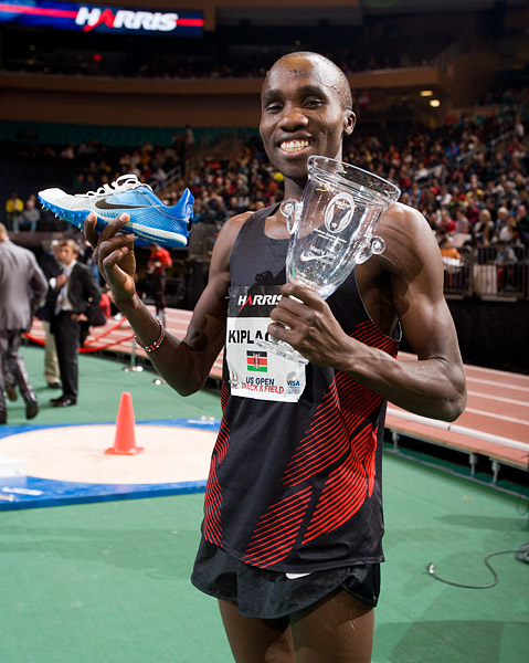 Silas Kiplagat wins mile at Madison Square Garden