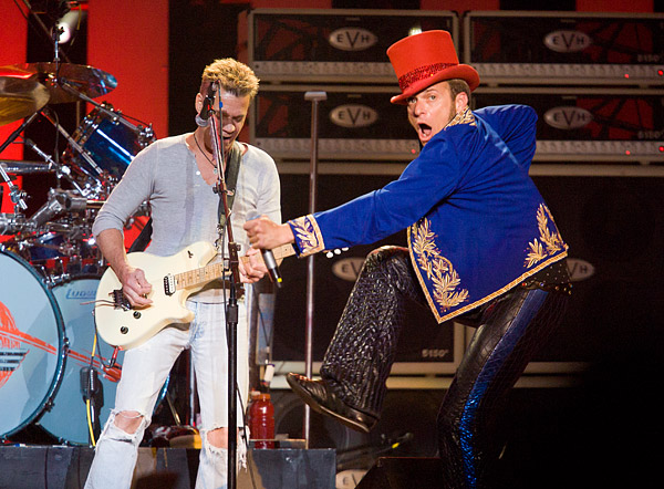 Van Halen with David Lee Roth