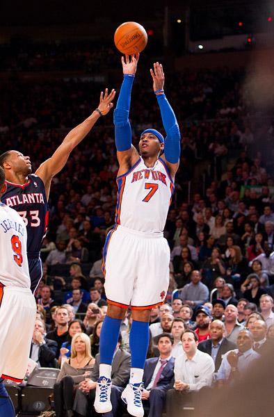 Carmelo Anthony jumpshot