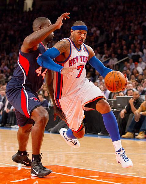 New York's Carmelo Anthony