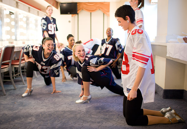 Radio City Rockettes Super Bowl ad