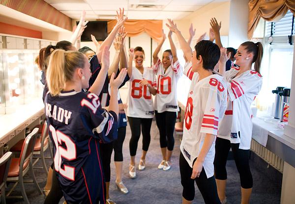 NBC Super Bowl Rockettes