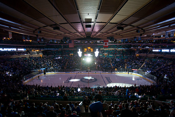 Inside Madison Square Garden