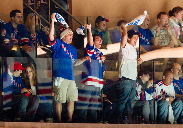 New York Rangers fans