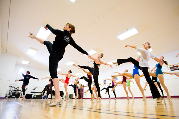 Dancers participate in the week-long Rockette Summer Intensive at Radio City Music Hall