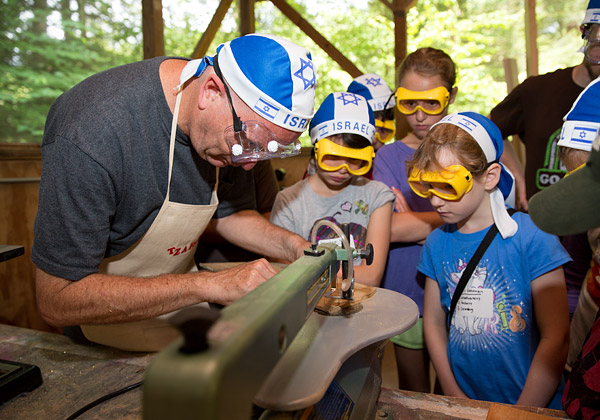 Camp woodworking