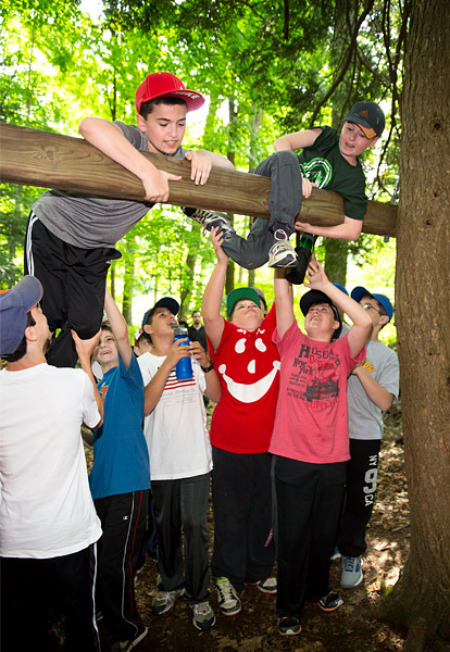 Camp low ropes