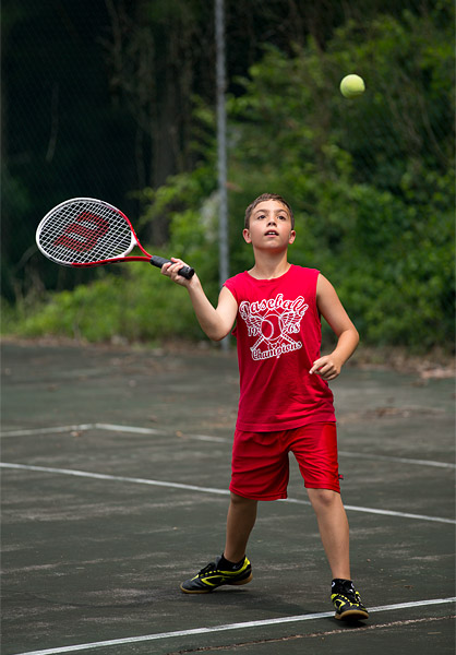 Camp tennis
