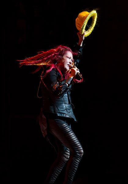Cyndi Lauper performs at the Beacon Theatre in New York City