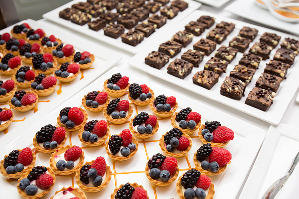 Dessert spread at a Better Homes and Gardens party in midtown Manhattan.