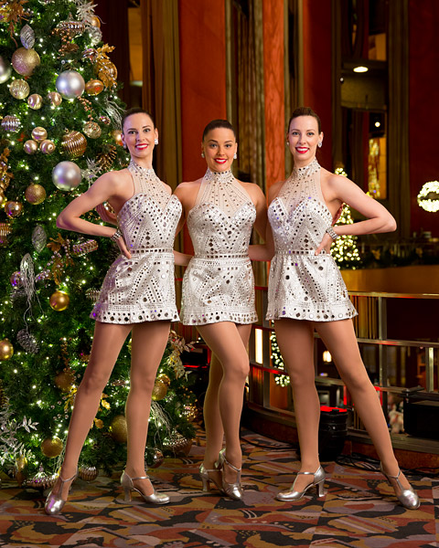 Rockette sisters Lisa, Alison and Kristin Jantzie at Radio City Music Hall. The photo was featured in the December 12th issue of Time Out New York.