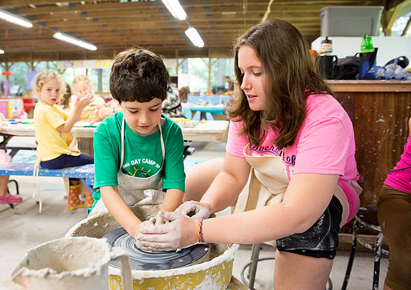 New York summer camp ceramics