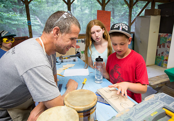 New York camp woodworking