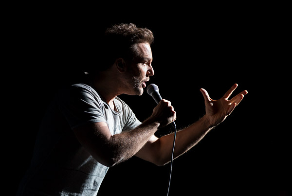 Dane Cook, one of five comedians to perform at Garden of Laughs, a benefit for the Garden of Dreams Foundation